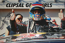 Craig Lowndes SIGNED 12x8, Aussie V8 Supercars Clipsal 500 Victory Portrait 2013