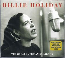 """BILLIE HOLIDAY """"The Great American Songbook"""" UK 2007 Not Now 2-CDs NEW/SEALED"""