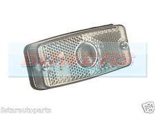 12V/24V VOLT FRONT RECTANGULAR CLEAR MARKER/POSITION/SIDE LIGHT/LAMP REFLECTIVE