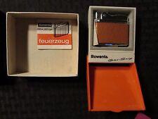 1960s ROWENTA Gas Snip Lighter NM in Original Box - German
