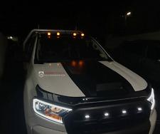 LED Daytime Headlight Cover Ford Ranger MKII MK2 PX2 2015/2016 Wildtrak XLT XLS