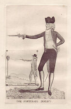 John Kay Original Antigua Grabado. James MacRae, Esq., 1799