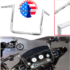 "Motorcycle 16"" Ape Hanger Handlebar 1.25"" Monkey Bar For Harley Touring 1982-Up"