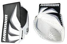 New Warrior Fortress Pro Sr goalie blocker/catcher ice hockey glove black/silver