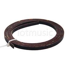Acoustic Guitar Binding Purfling Strip 1650 x 5 x 1.5mm Dark Brown Celluloid