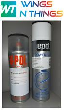 U POL AEROSOL PAINT 400ML+ LACQUER FOR MAZDA FROZEN WHITE A5Y