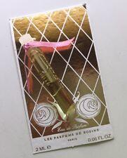 Les Parfums de Rosine Rose des Neiges 2ml house sample EDP Eau de Parfum TRY!