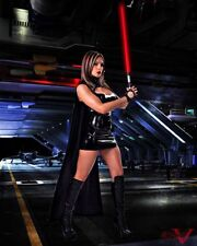 TNA KNOCKOUT SUPERSTAR VELVET SKY 8X10 PHOTO W/ BORDERS