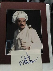 GENUINE HAND SIGNED NATHAN LANE AUTOGRAPH AND PHOTO