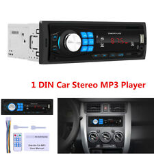 Bluetooth Car Stereo Audio In-Dash FM Aux Input Receiver USB SD MP3 Radio Player