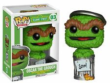 FUNKO POP! SESAME STREET #03 POP OSCAR THE GROUCH