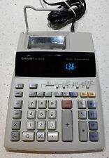 Sharp El-1801P Iii 12 Digit 2 Color Printing Desktop Calculator