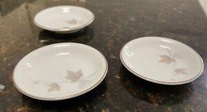 Noritake Harwood 6312 vintage 1962-1974 white bone china butter pat/trinket dish