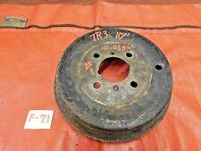 """Triumph TR3,TR4, Brake Drum, 10"""", #1, Original, !!"""