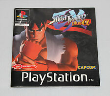 STREET FIGHTER EX PLUS ALPHA PLAYSTATION 1 MANUAL ONLY