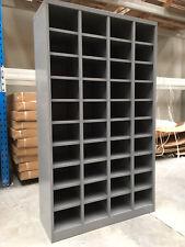 Metal pigeon hole unit steel shelving cupboard unit 40 slots office furniture