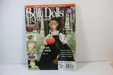 Halloween Witch Needle Modeling Doll Patterns Soft Dolls & Animals Magazine