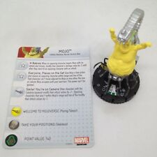 Heroclix Wolverine and the X-Men set Mojo #050 Super Rare figure w/card!