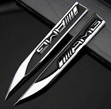 Aufkleber Emblem Metall Schriftzug 2pcs Auto schwarz Dolch für GTI POLO Golf
