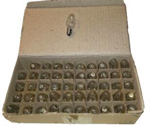 50 - 4 Watt Incandescent Night Light Bulbs - Great Price!