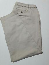 TOMMY HILFIGER- pantaloni colore caki - Taglia:IT52 100% cotone  Made Vietnam