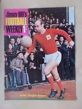 JIMMY HILLS FOOTBALL WEEKLY MAGAZINE DECEMBER 15th 1967 GLASGOW RANGERS