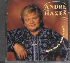 ANDRE HAZES - Met heel mijn hart CD Album 14TR Holland 1993 (EMI)