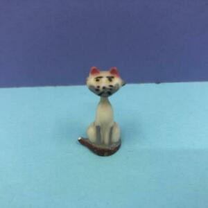 Rare Vintage Marx Disney Disneykins Siamese Cat Lady & The Tramp Figure 1960s