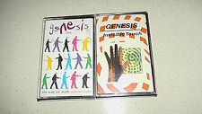 music cassette x 2 genesis live... the way we walk volume two & invisible touch