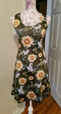 Cow Cow sunflower dress size SMALL