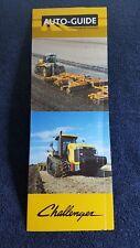 Challenger tractor Auto Guide MT700 MT800 sale brochure