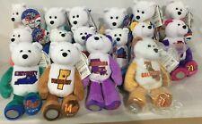 16 Limited Treasures Plush Bear State Quarters