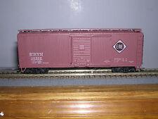 """Athearn #5232 Erie 40' Wood Box Car #60592 Built-up """"H.O.Gauge"""""""