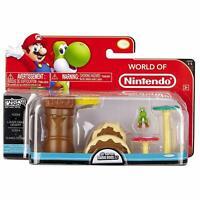 Mario Bros Universe Micro Land Wave 1: Layer Cake Desert with Yoshi Playset