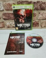 Microsoft Xbox 360 Game - Metro 2033 - Complete with Manual - Free P&P