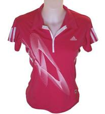 Bnwt Authentic Women's Adidas Polo T Shirt Top Large Stretch Gym Running Sport