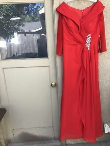SPECIAL OCCASION Wedding LONG GOWNS MOTHER OF THE BRIDE FORMAL EVENING DRESS