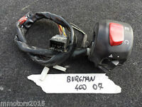 Commutatore accensione  SUZUKI BURGMAN 400 2007 -  2013