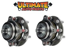 Front Wheel Bearing Hubs (Pair) Right & Left for 08-16 Toyota Sequoia 4x2