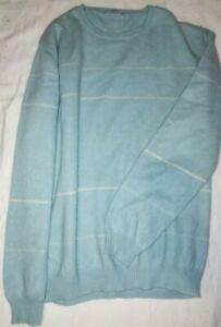 MALO maglione donna cashmere blu L