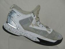 timeless design b7d15 9be49 ADIDAS Dame 2 White Sz 10.5 Men Basketball Shoes