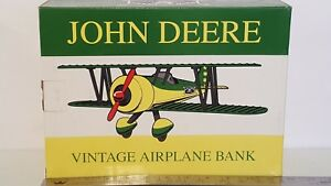 John Deere Vintage Airplane Bank, 1/32 by SpecCast