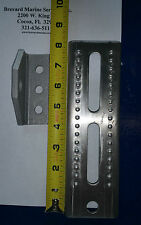 """8"""" Tall ALUMINUM Trailer Swivel Top Bunk Brackets for Boat Trailers"""