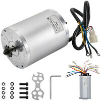 Electric Brushless DC Motor w/Control, 48V 2000W 4300Rpm High Speed Motor