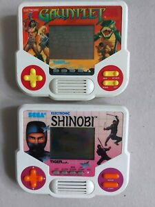 GAUNTLET e SHINOBI Tiger  Game-Vision
