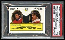 1988 OPC Sticker #214 Brian Hayward / Patrick Roy PSA 7