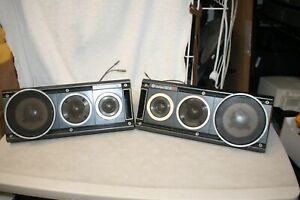 Vintage Clarion OD6 Car Speaker PAIR Tested Working