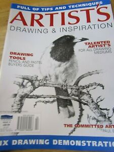 Artist's Drawing & Inspiration PENCIL & PASTEL Issue 14 Landscapes & Animals Mag