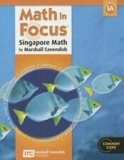 Math in Focus: Singapore Math 1A, Student Edition by Marshall Cavendish