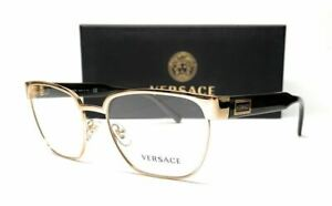 VERSACE VE1264 1461 Gold Men's Square Eyeglasses 54 mm